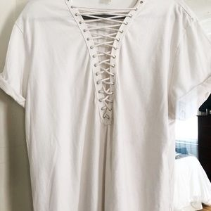 Emma & Sam Tops - LF white T-shirt